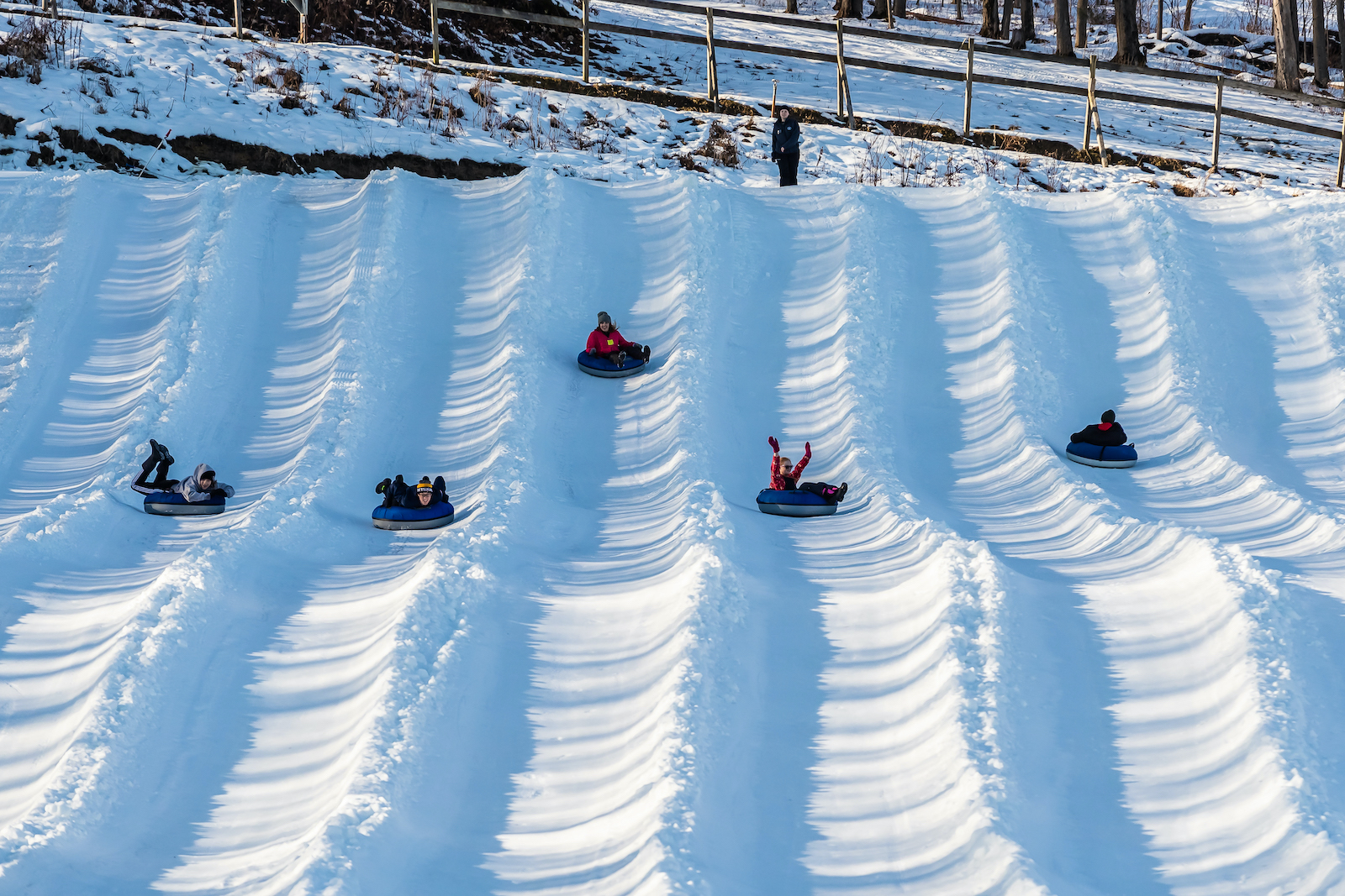snow tubing at mount pleasant in edinboro pa