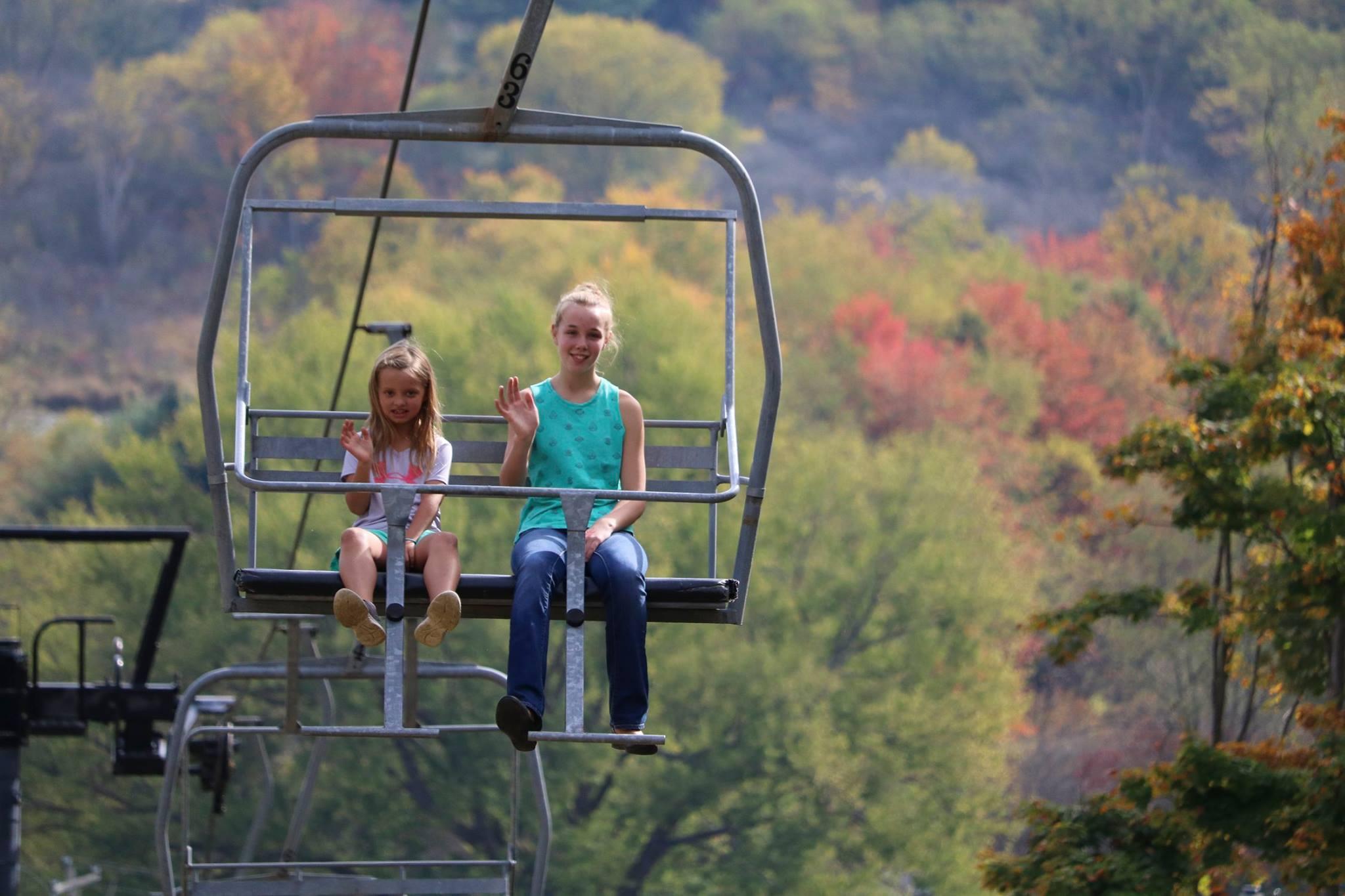 mount pleasant chair ride