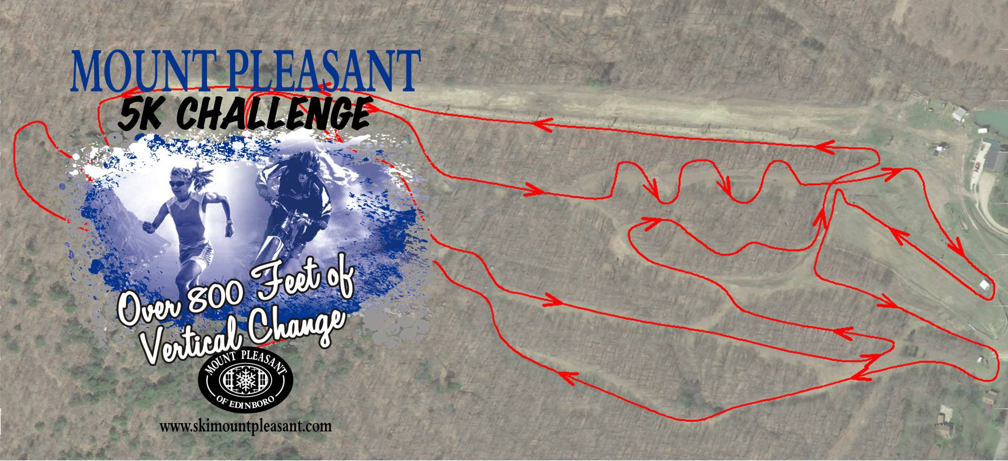 Mount Pleasant 5K Challenge Saturday, October 7th